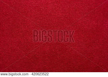 Cloth. The Background Is Made Of Satin Or Silk Fabric. Material For Sewing Clothes And The Work Of A