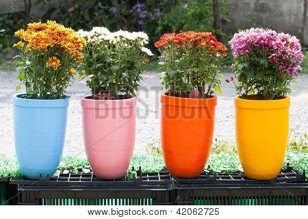 Ton-Blumentopf