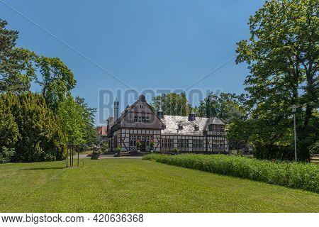 The Library In The Former Inhalatorium By The Architect Wilhelm Jost, Bad Nauheim, Germany