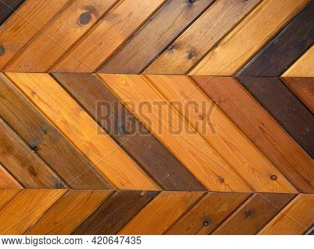 Parquet Floor. Repeated Texture Of The Parquet.