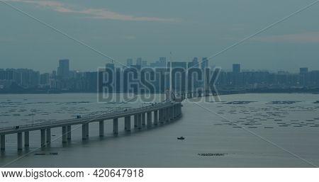 Hong Kong, 05 November 2020:Hong Kong Shenzhen Western Corridor