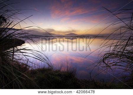 Sunrise, Lake Taupo, New Zealand