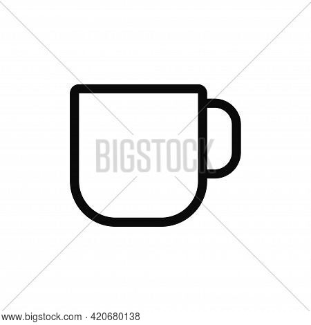 Cup Icon Isolated On White Background. Cup Icon In Trendy Design Style For Web Site And Mobile App.