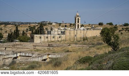 Jerusalem, Israel - May 6th, 2021: Jordanian Bunkers, Ruined In The Six Day War, On A Hill Near The