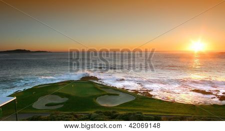 Furo 7 golfe Pebble Beach National Pro-Am 2013