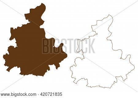 Rhein-kreis Neuss District (federal Republic Of Germany, State Of North Rhine-westphalia, Nrw, Dusse