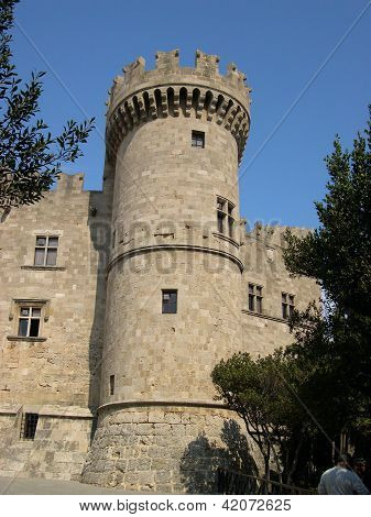 Castle In Rhodes