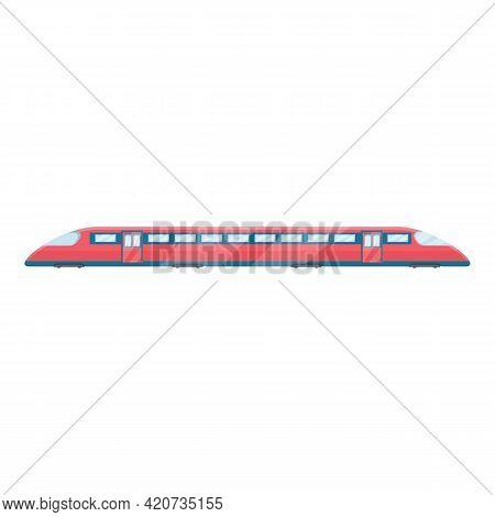 Express Metro Icon. Cartoon Of Express Metro Vector Icon For Web Design Isolated On White Background