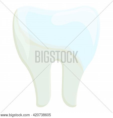 Home Whitening Teeth Icon. Cartoon Of Home Whitening Teeth Vector Icon For Web Design Isolated On Wh