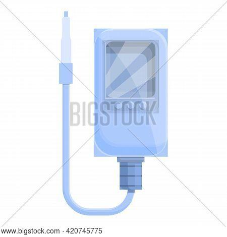 Ph Meter Medical Device Icon. Cartoon Of Ph Meter Medical Device Vector Icon For Web Design Isolated