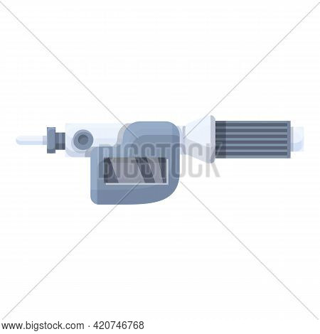 Digital Micrometer Technology Icon. Cartoon Of Digital Micrometer Technology Vector Icon For Web Des