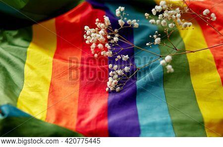 Lgbtq Concept Flag. Gender Equality, Lgbtqiia, Transgender, Gender-fluid Concept. Gay Pride Concept.