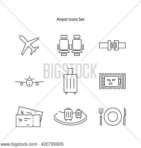 Video Camera Icon Isolated On White Background. Video Camera Icon Thin Line Outline Linear Video Cam
