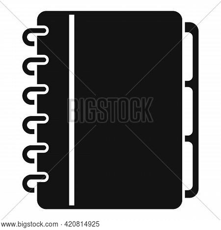 Syllabus Planner Icon. Simple Illustration Of Syllabus Planner Vector Icon For Web Design Isolated O