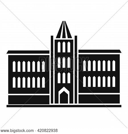 Parliament Building Icon. Simple Illustration Of Parliament Building Vector Icon For Web Design Isol