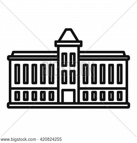 Parliament Architecture Icon. Outline Parliament Architecture Vector Icon For Web Design Isolated On