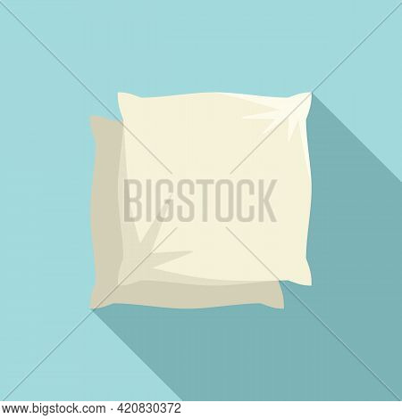 Pillows Icon. Flat Illustration Of Pillows Vector Icon For Web Design
