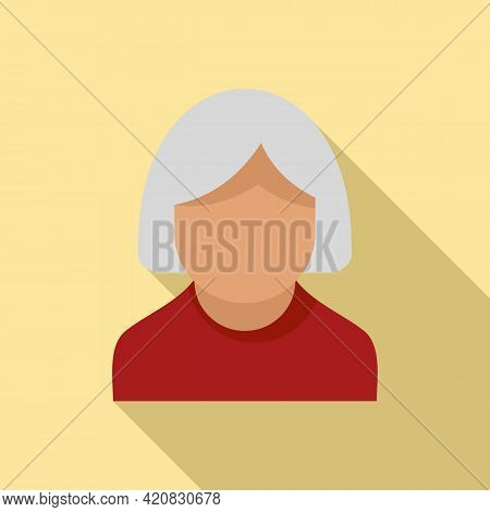 Nursing Elderly Icon. Flat Illustration Of Nursing Elderly Vector Icon For Web Design