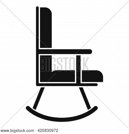 Nursing Chair Icon. Simple Illustration Of Nursing Chair Vector Icon For Web Design Isolated On Whit