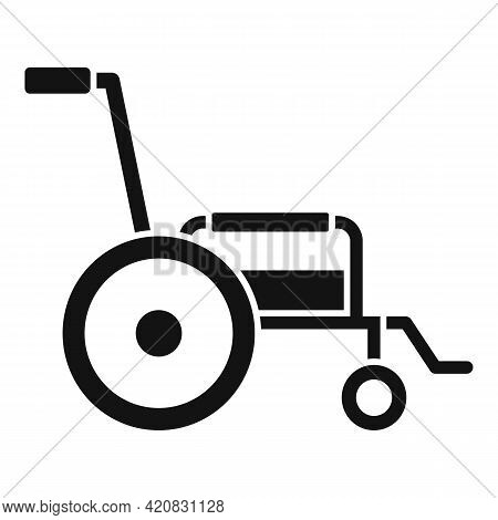 Nursing Wheelchair Icon. Simple Illustration Of Nursing Wheelchair Vector Icon For Web Design Isolat