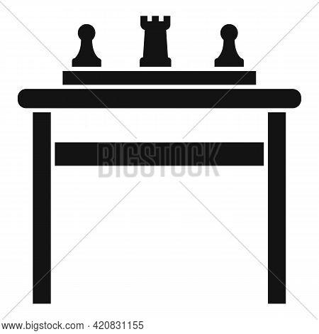 Nursing Board Game Icon. Simple Illustration Of Nursing Board Game Vector Icon For Web Design Isolat