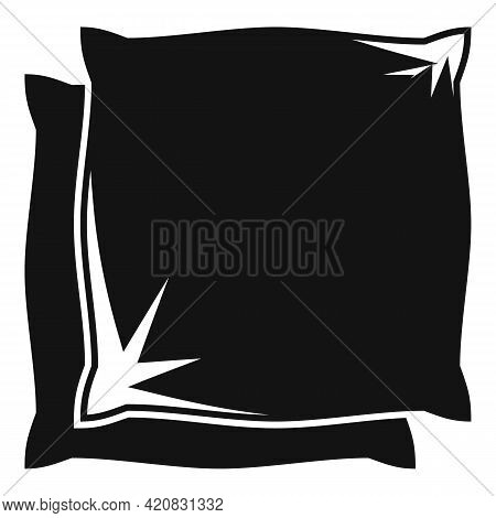 Pillows Icon. Simple Illustration Of Pillows Vector Icon For Web Design Isolated On White Background