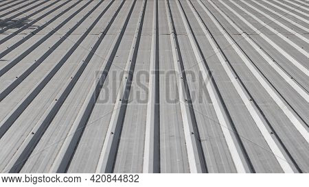 Metal Sheet Metal Roof And Sunlight Backgrounds