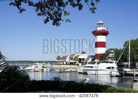 Hilton Head Harbour Town Lighthouse