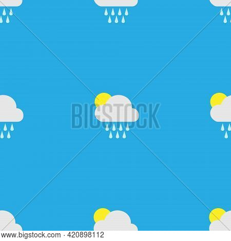Vector Pattern With Lumps For Baby Textiles.