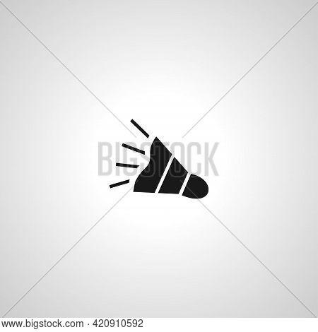 Bullhorn Simple Vector Icon. Promotion Icon. Agitation