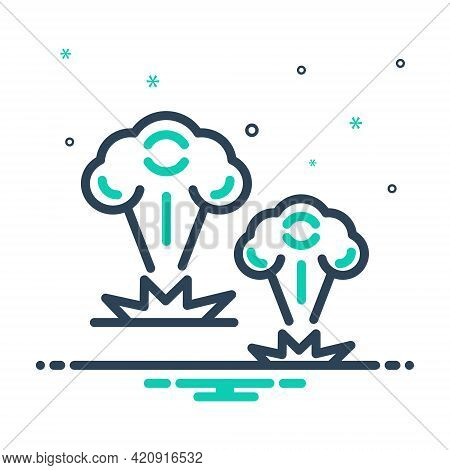 Mix Icon For War Battle Fight Fighting Bomb Blast Attack
