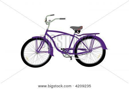 Bicycle Purple