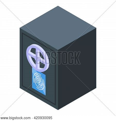 Safe Password Protection Icon. Isometric Of Safe Password Protection Vector Icon For Web Design Isol