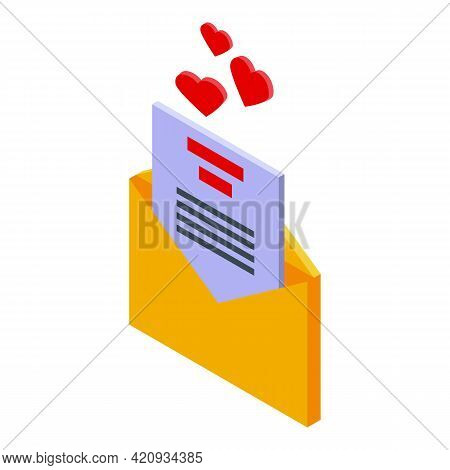 Successful Campaign Mail Icon. Isometric Of Successful Campaign Mail Vector Icon For Web Design Isol
