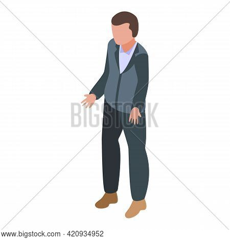 Democracy Human Icon. Isometric Of Democracy Human Vector Icon For Web Design Isolated On White Back