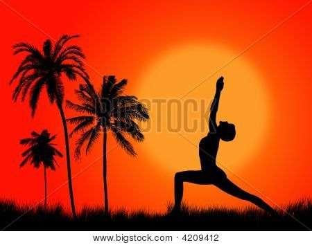Yoga In The Nature