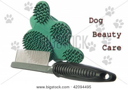 Grooming Acessories For A Dog Care