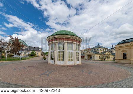 Pavilion Of Francis Mineral Spring (pramen Frantisek In Czech, Franzensquelle In German) In The Cent