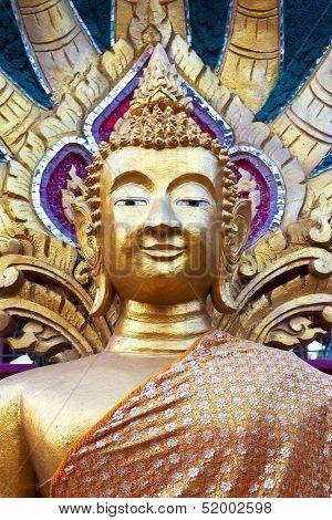 Golden Temple Statue