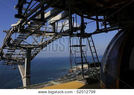Haifa car cable station