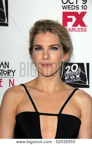 LOS ANGELES - OCT 7:  Lily Rabe at the