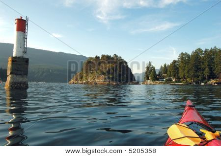 Kayaking In Deep Cove