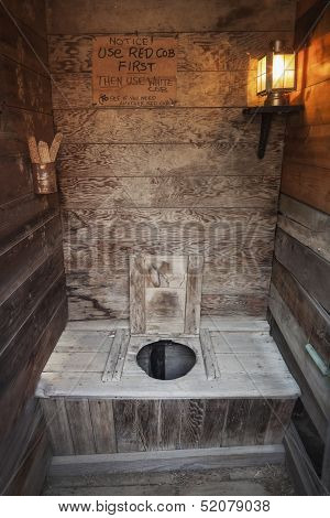 Outhouse Interior