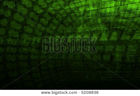 A Medical Science Technology as Art Background poster