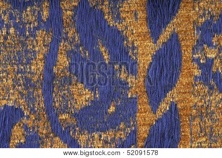 close up of the upholstery fabric texture poster