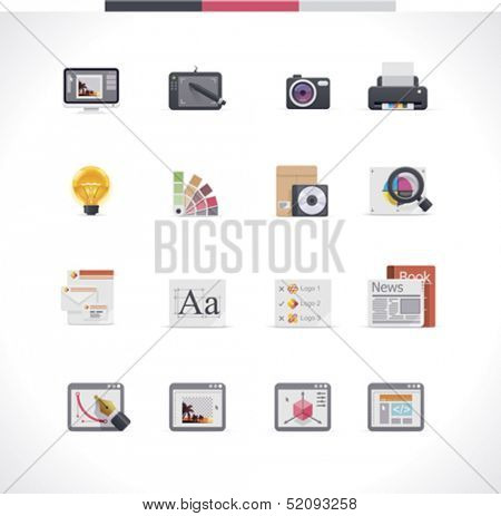 Icon-Set für Grafik-design