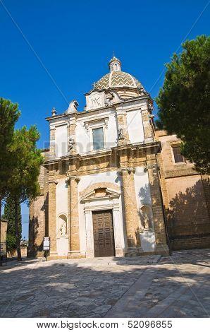 Sanctuary Church of Mater Domini. Mesagne. Puglia. Italy.