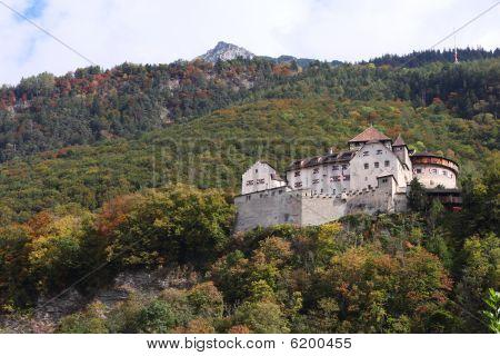 castle of vaduz in liechtenstein