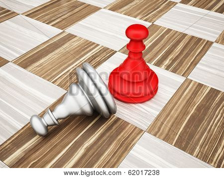 The Pawn Chess Piece