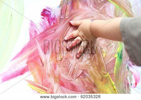 Fingerpainting